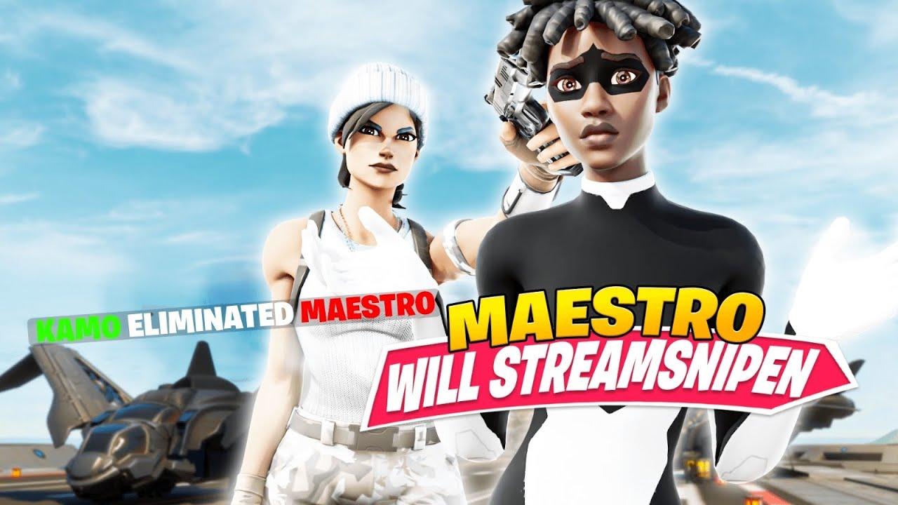 🤣 MAESTRO STREAMSNIPED KAMO! | CREATIVE GEGEN ISSA, MAESTRO & TRIMMUXE!