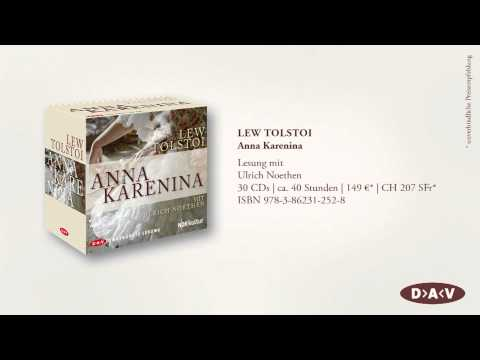 Anna Karenina YouTube Hörbuch Trailer auf Deutsch