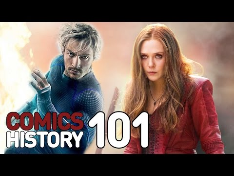 Scarlet Witch and Quicksilver - Comics History 101