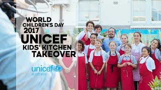 UNICEF World Children's Day 2017 | Kids' Kitchen Takeover Teaser