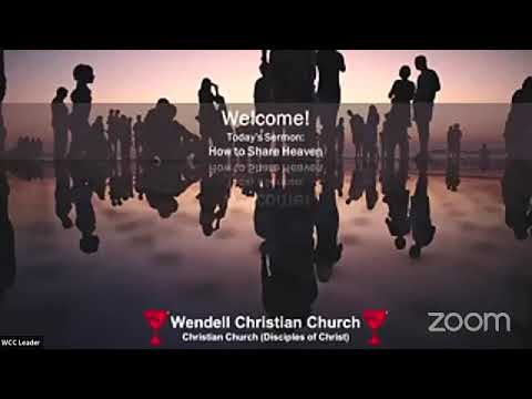Zoom Worship - September 26, 2021