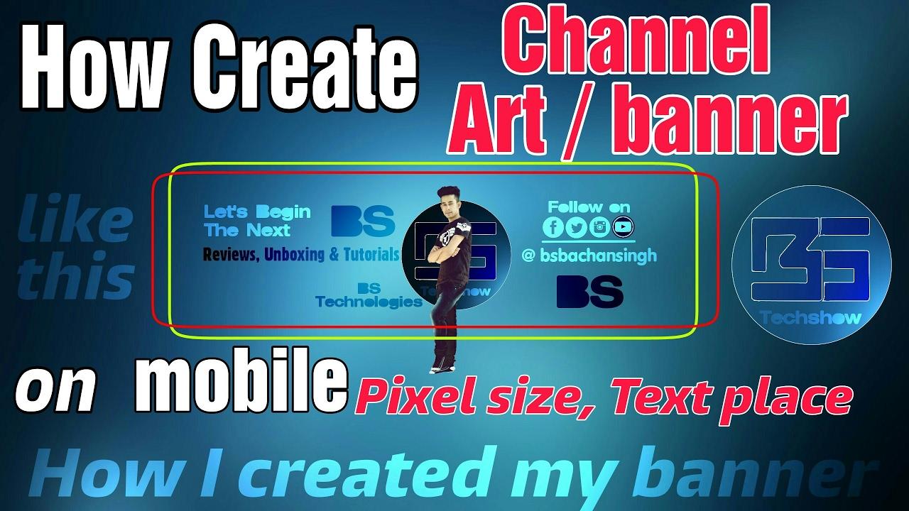 Design A Channel Art