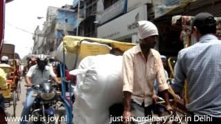 Himalaya road trip part 1 Delhi India daily street life adventure travel on Royal Enfield motorbikes