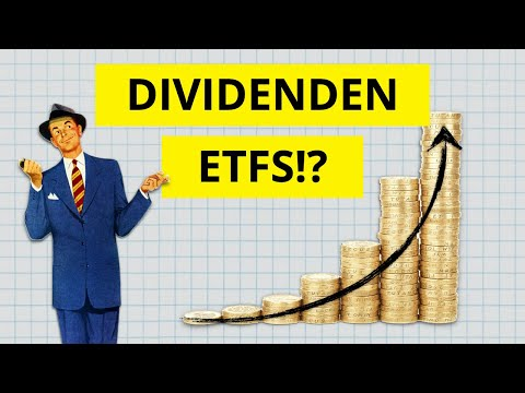 Passives Einkommen durch Dividenden ETFs? 🤔  Inkl. 4 ETFs