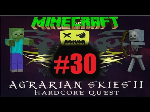 Let's Play Minecraft Agrarian Skies 2 S01E30 - Auto Pulveris