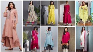 Summer cotton & lawn casual kurta /  kurti design for girls, #Designer Casual Wear Lawn Kurta Kurtis
