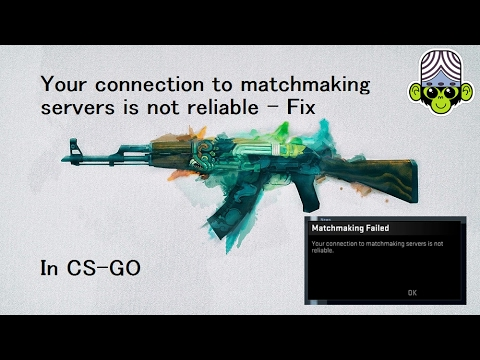 Not connected to matchmaking servers deadzone