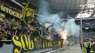 Ett till klipp på AIK-klacken (AIK - Hammarby 1-0)