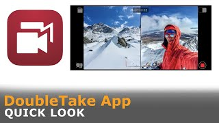 DoubleTake App by Makers of FiLMiC Pro Quick look