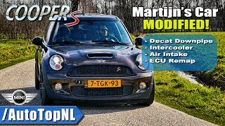 Mini Clubman Cooper S 230HP LOUD! Exhaust SOUND & DRIVE by AutoTopNL