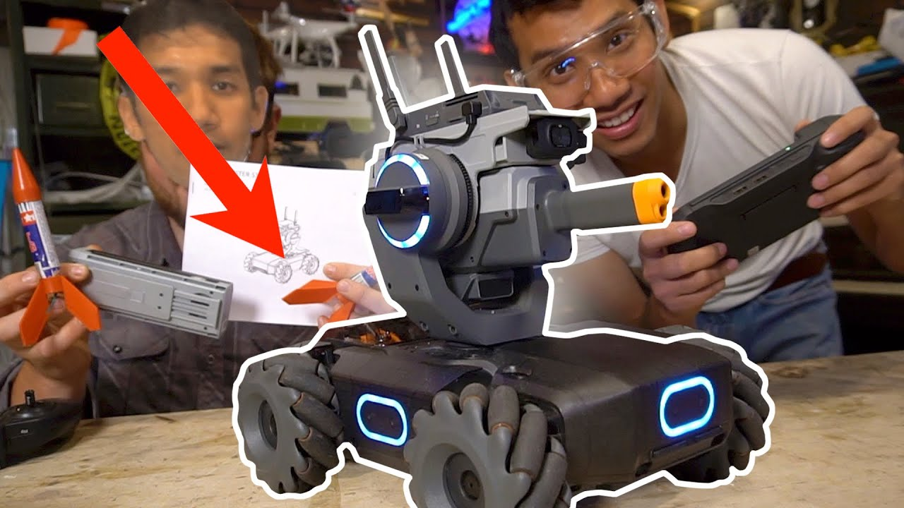 WE GOT THE DJI robomaster S1