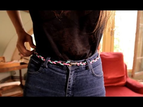7ed95f7783a Tuto Dance and Tricot   une ceinture tressée - YouTube