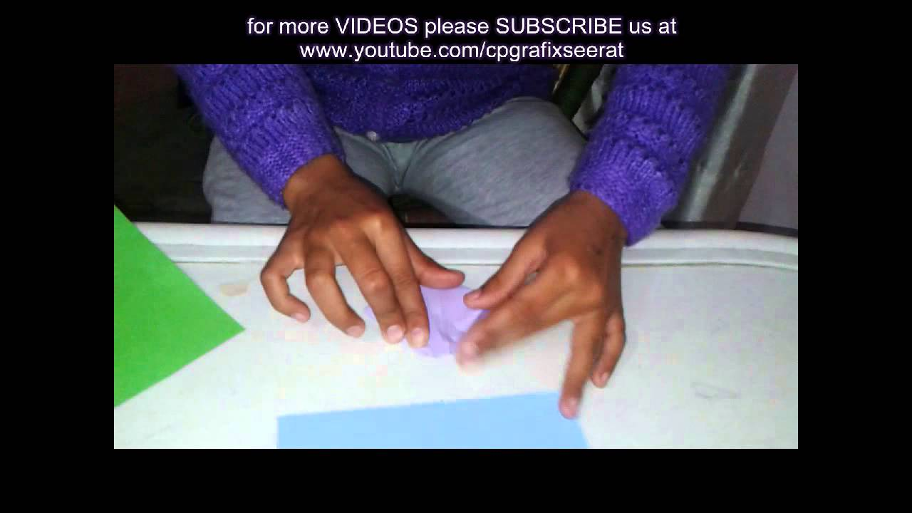 HOW TO MAKE PAPER FLOWER Origami | IN HINDI | CP GRAFIX - YouTube Flower Vase Meaning In Hindi on meaning in urdu, meaning in french, meaning in spanish,