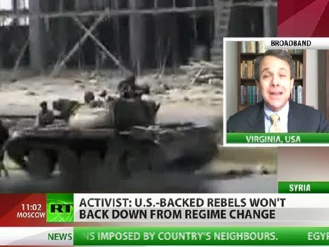 No-Return: 'US-backed rebels never give up on regime change'