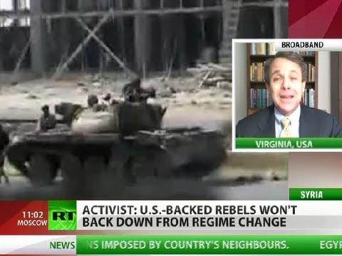 No-Return: 'US-backed rebels never give up on regime change'