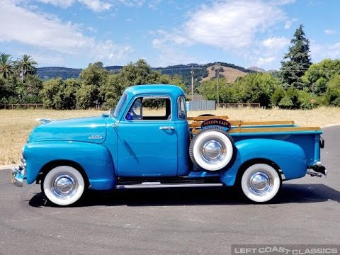 1954 Chevy Truck For Sale: Chevrolet 3100 5-Window Pickup