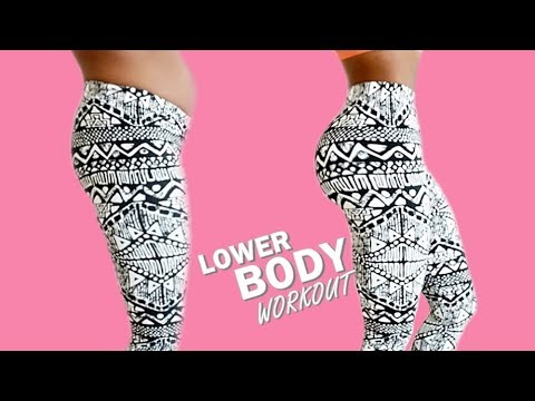 10 MIN LOWER BODY WORKOUT || Tone Up Your Glutes, Legs & Thighs - Best No Equipment Home Workout