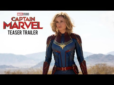 CAPTAIN MARVEL – Teaser Trailer (2019) Brie Larson, Samuel L. Jackson Movie | Marvel Studios Concept