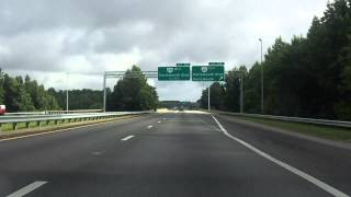 Hampton Roads Beltway (Interstate 664 Exits 15 to 8) northbound/inner loop
