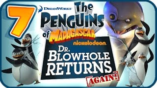 Penguins of Madagascar Dr Blowhole Returns Again Walkthrough Part 7 (PS3) 100% Burt's Beacon
