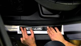 Наклейка на пороги для Ford Focus 3 + рестайлинг (Форд Фокус 3)(Не большой ролик о том как клеить декоративную наклейку (бронь) на пороги автомобиля Наклейка на пороги..., 2015-01-23T17:08:31.000Z)