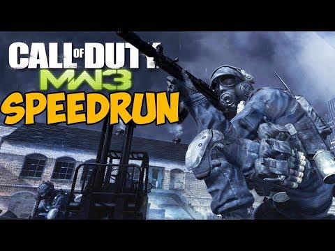 Call Of Duty: Modern Warfare 3 ► SPEEDRUN - Скоростное прохождение