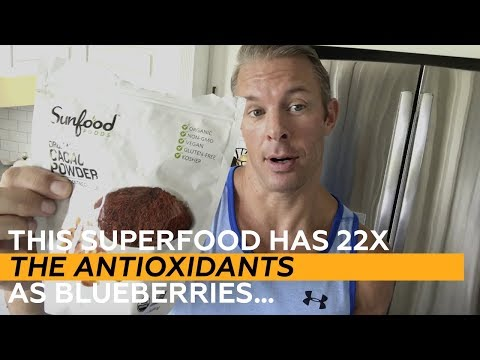 This Superfood has 22X the Antioxidants as Blueberries…