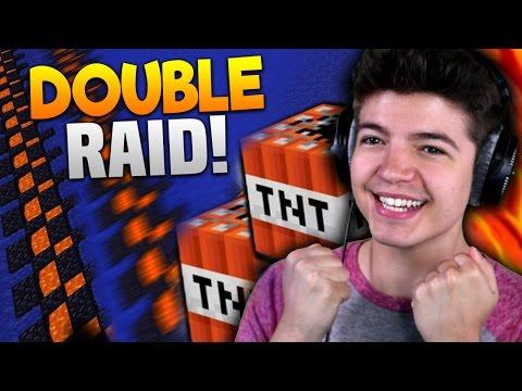DOUBLE RAID!! | Minecraft COSMIC FACTIONS #42 (Season 6)