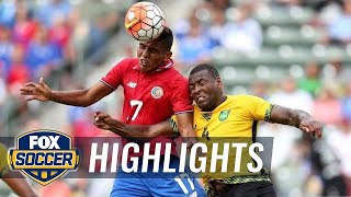 Costa Rica vs. Jamaica - 2015 CONCACAF Gold Cup Highlights