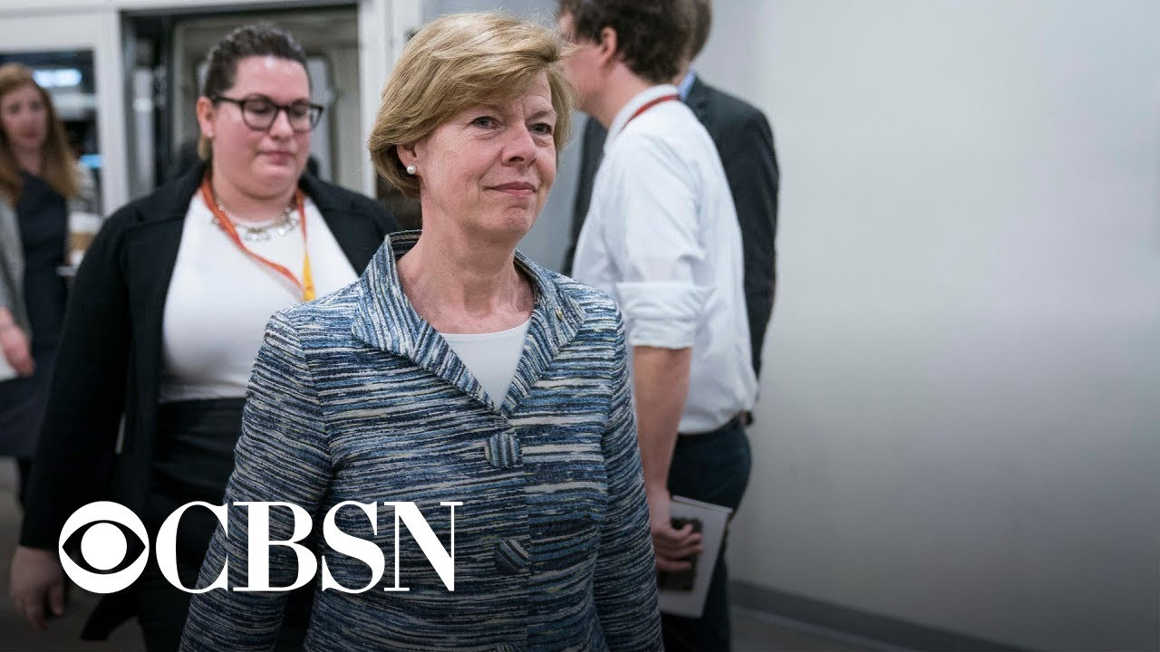 Senator Tammy Baldwin: Trump has testing strategy for the White House, but not the rest of the co… - CBS News
