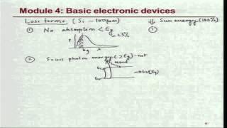 Mod-04 Lec-34 Solar cells