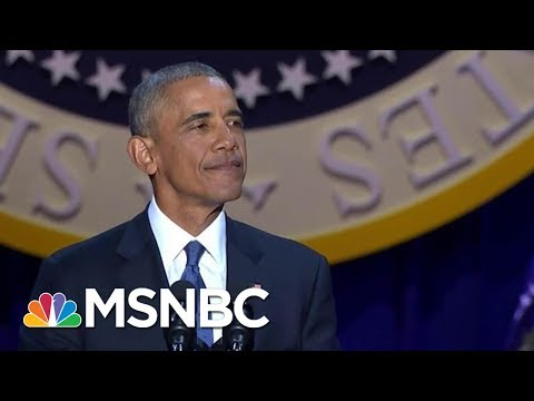Former President Barack Obama Says Ending DACA Is Cruel And Wrong   MSNBC