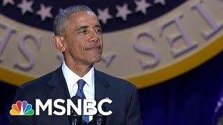 Former President Barack Obama Says Ending DACA Is Cruel And Wrong | MSNBC