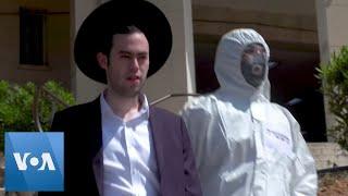 Coronavirus: Israel Police Arrest Ultra-Orthodox Jews as Part of Anti-Gathering Measures