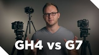 Panasonic GH4 vs G7 Video Review