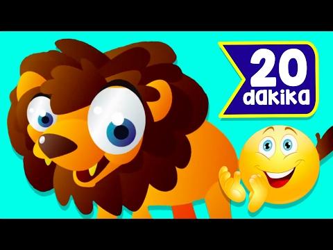 aslanı seviyorsan alkışla 20 dakika çocuk şarkısı çizgi film