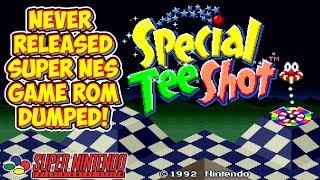 Special Tee Shot - Unreleased SNES Prototype Rom Dumped!
