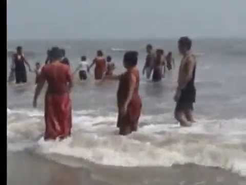Bathing place for  tourists -- DIGHA