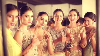 Shruti S - collection Kamsin for the blenders pride fashion tour.