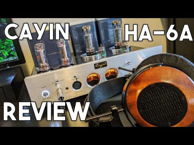 Cayin HA-6A Tube Headphone Amp Review