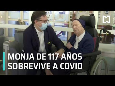 Monja de 117 años sobrevive al COVID-19 - Las Noticias