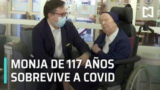 Download lagu Monja de 117 años sobrevive al COVID-19 - Las Noticias