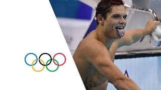 Florent Manaudou Wins Men's 50m Freestyle Gold -- London 2012 Olympics