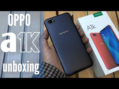 OPPO A1K UNBOXING AND FEATURES