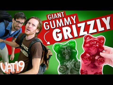 Giant Gummy Grizzly Bear