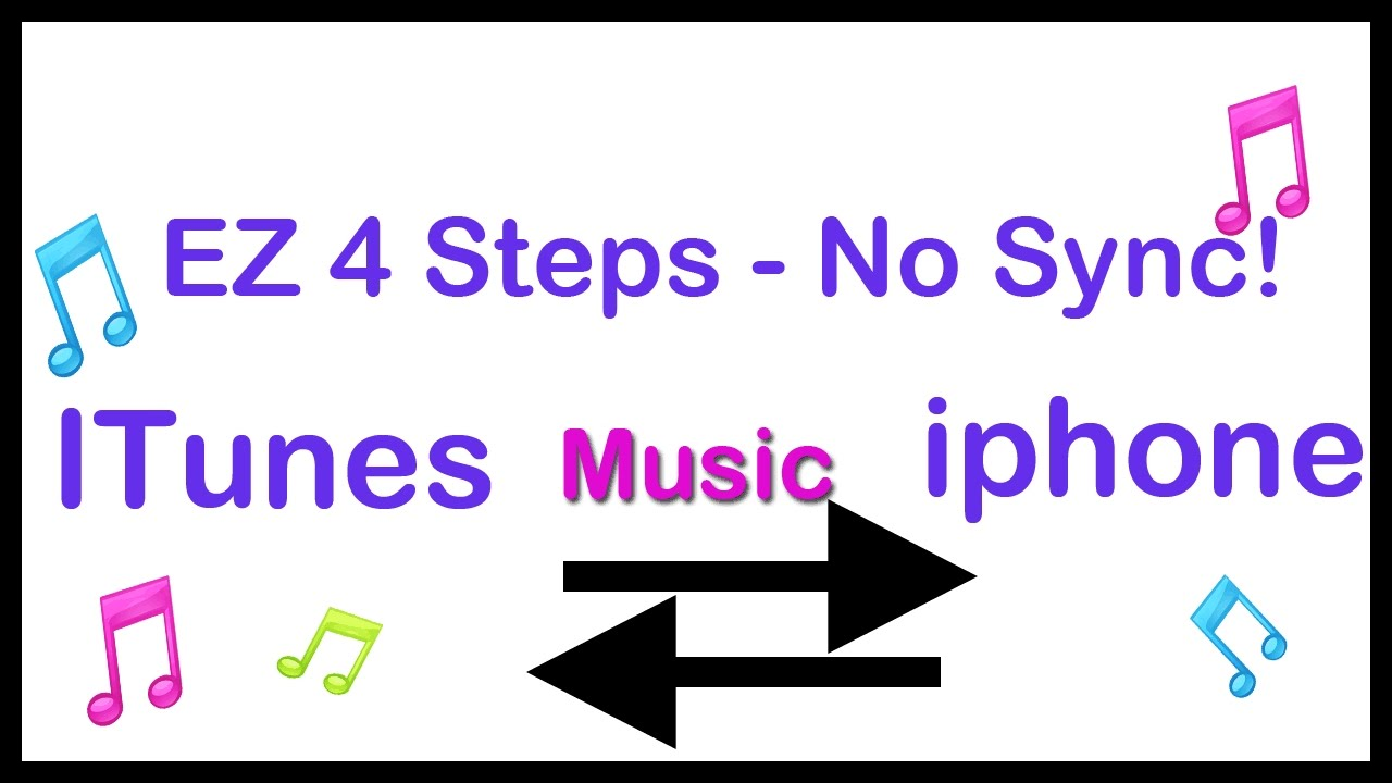 How To Add Music To Iphone Without Itunes Youtube