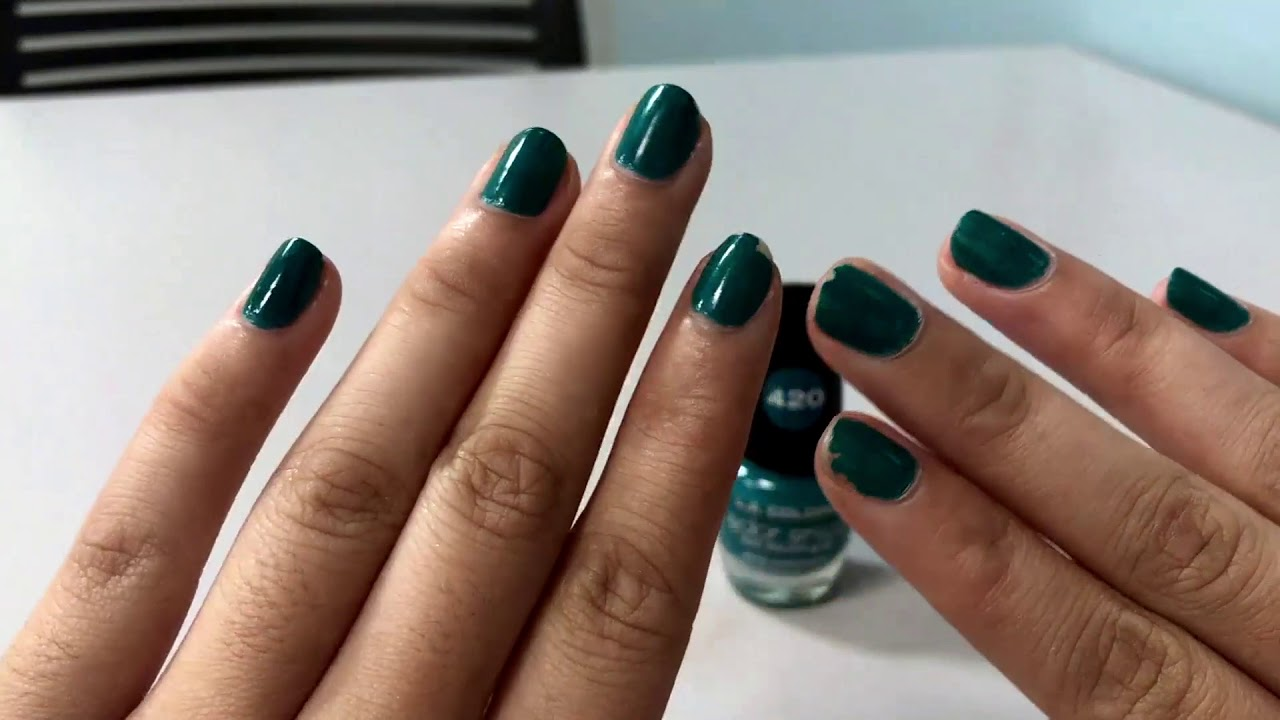 ✅ How To Use LA Colors Color Craze Nail Polish Review - YouTube