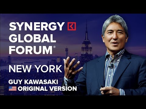 Guy Kawasaki | Chief evangelist Apple Inc. | SYNERGY GLOBAL FORUM 2017 NEW YORK | Original version