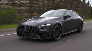 Designo Mercedes-AMG GT63S 4-Matic+ Brilliant Blue Magno and Graphite Gray Magno