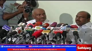 P. H. Pandian & Manoj Pandian Speaks On Jayalalitha's Death & Sasikala To Be TN CM | FULL PRESS MEET